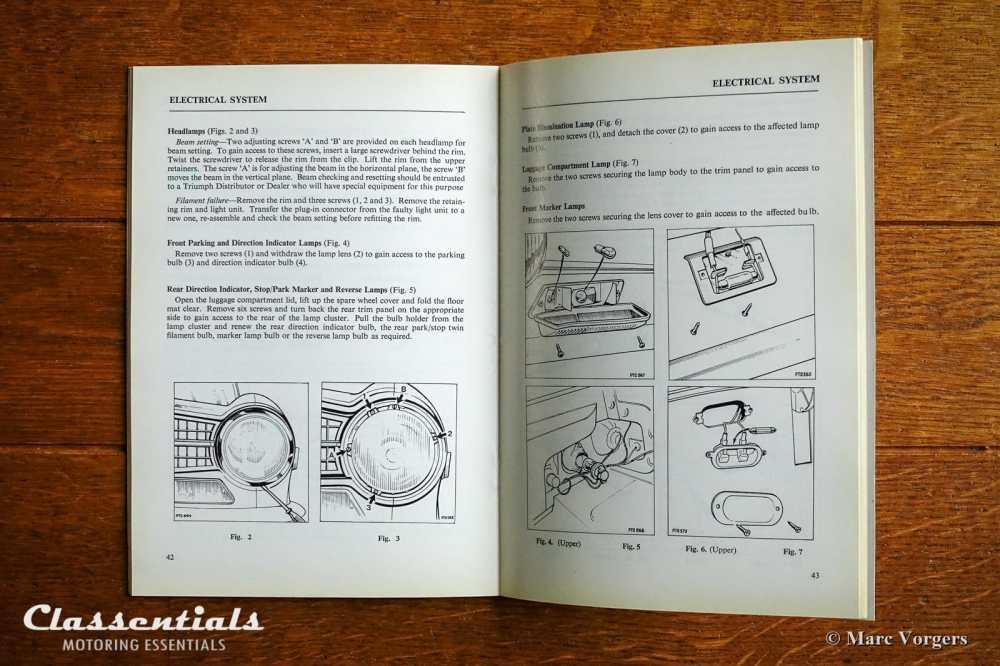 medium resolution of vintage original triumph tr6 pi handbook owners manual english language classentials classic car oldtimer