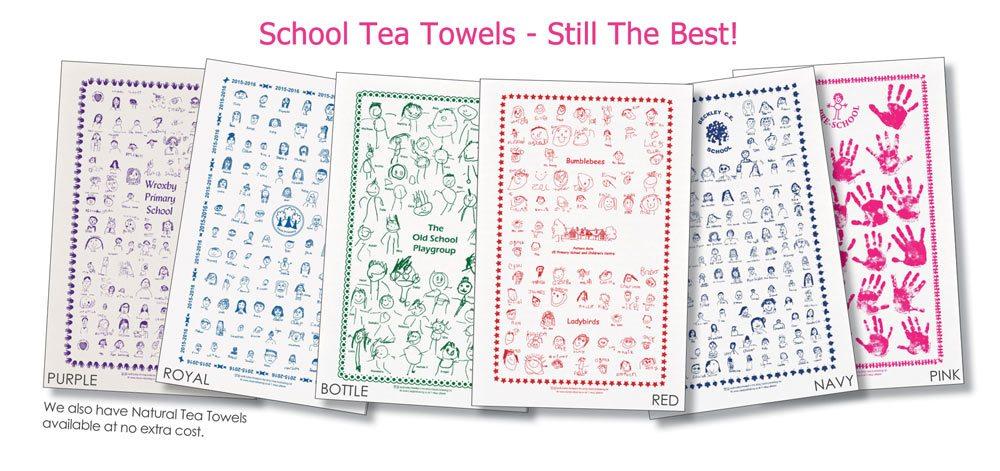 School Tea Towels Class Fundraising Perfect School