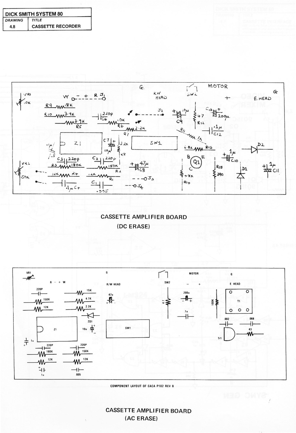 medium resolution of in the manual the circuit diagram was larger clearer and somehow seemed more authoritative