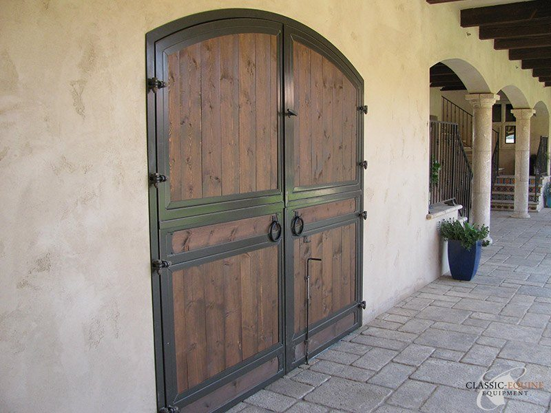 Horse Barn End Doors  Classic Equine Equipment