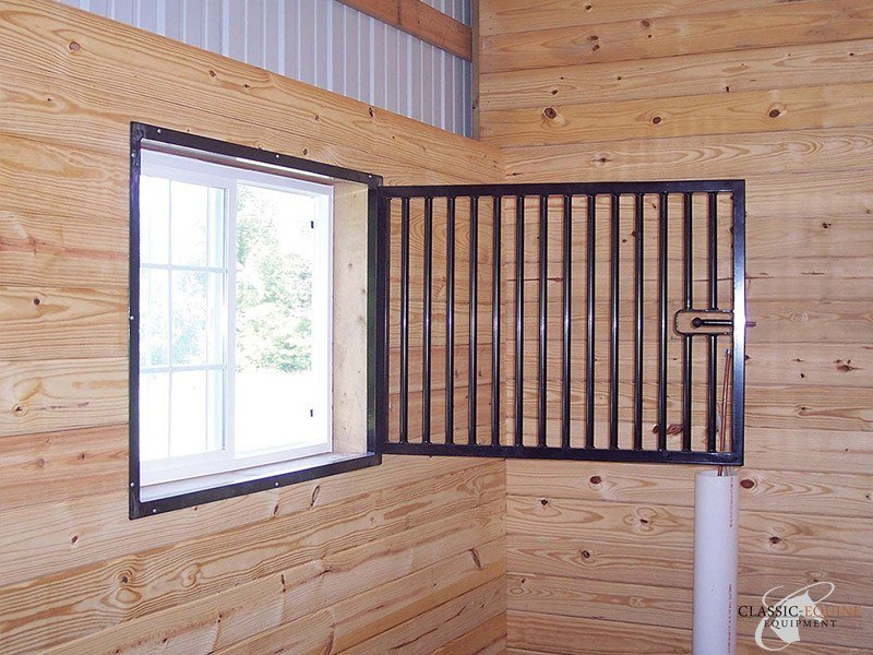 Barn Window Grills  Yokes  Classic Equine Equipment