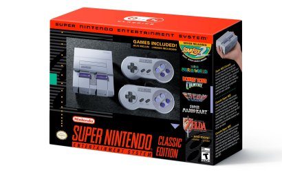 SNES Classic announced, 09/29, $80.00, 21 games including Star Fox 2!