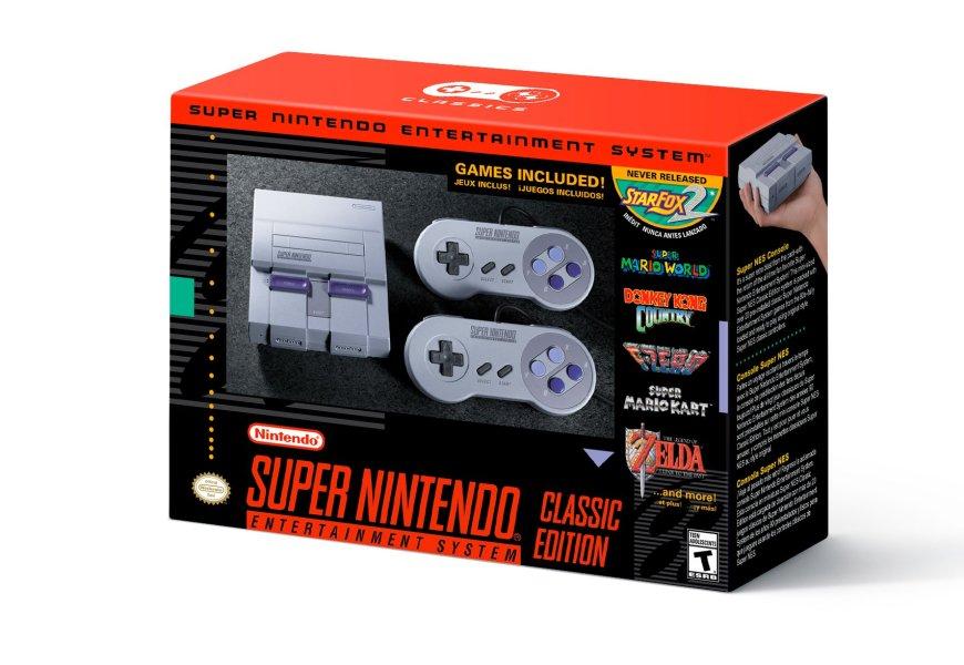 SNES Classic announced, 09/29, $80.00, 21 games including Star Fox 2!