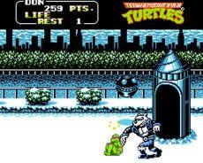 Teenage Mutant Ninja Turtles II – the Arcade Game