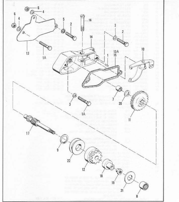 Harley Starter Jackshaft Diagram On Harley Davidson