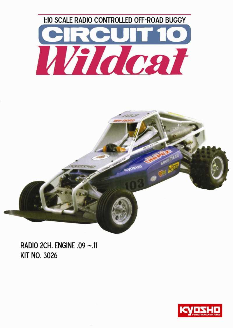 medium resolution of circuit 10 wildcat 1 10 classic and vintage rc cars kyosho circuit