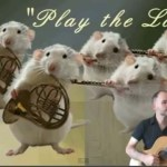 Classical Guitar and Mice Orchestra:<br/>Play the Love