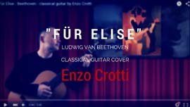 Fur Elise spanish classical guitar