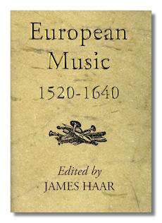 European Music 1520-1640 by Haar