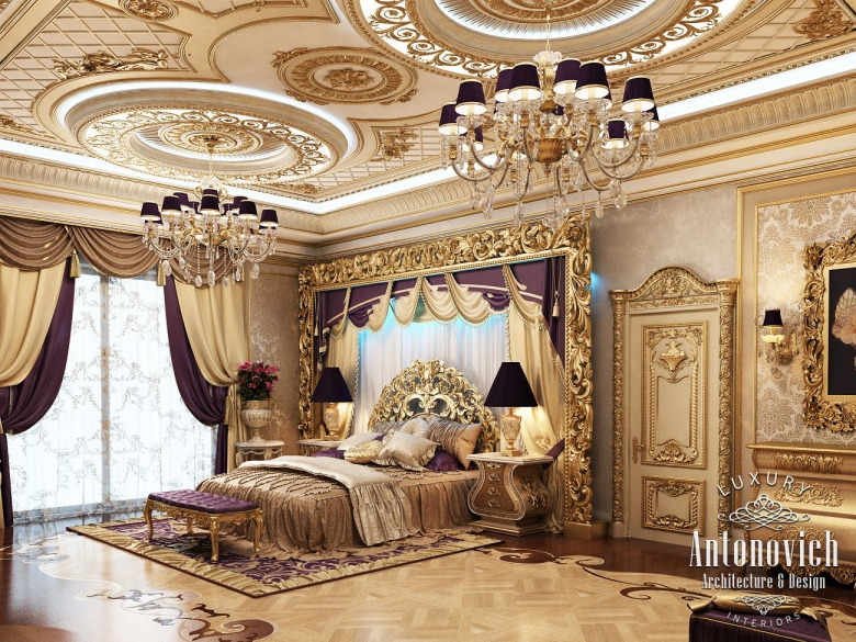 Master Bedroom For Luxury Royal Palaces  Classical