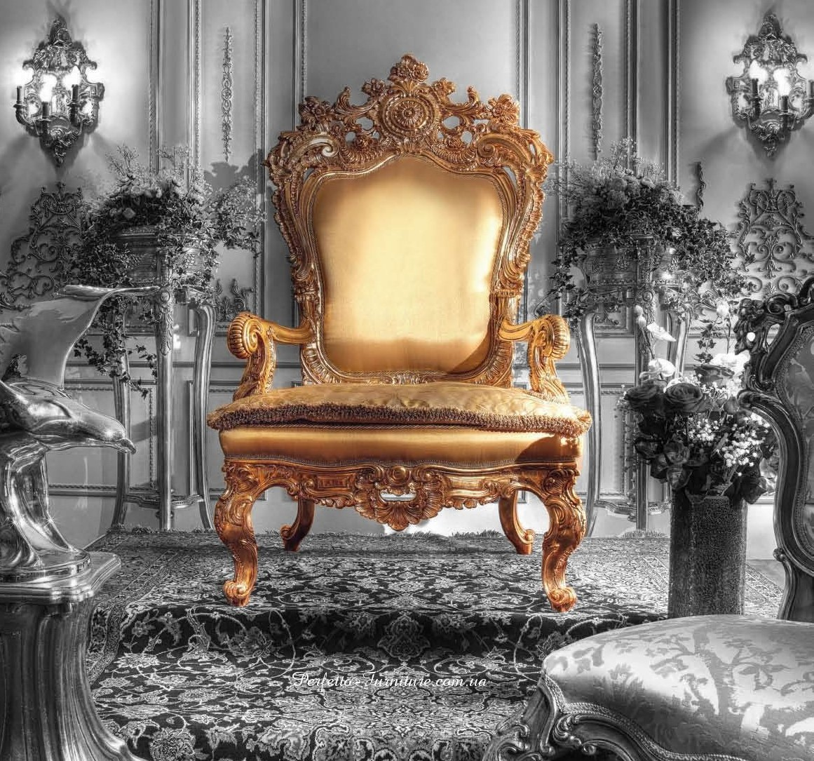 Throne Royal Armchair For kings  Prince and QueensTop