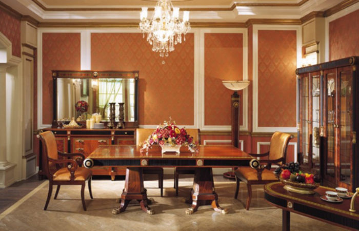 Empire Dining Room in Neoclassic StyleTop and Best