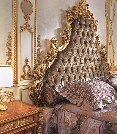 Italian Capitone Bedroom in Baroque Style  Top and Best