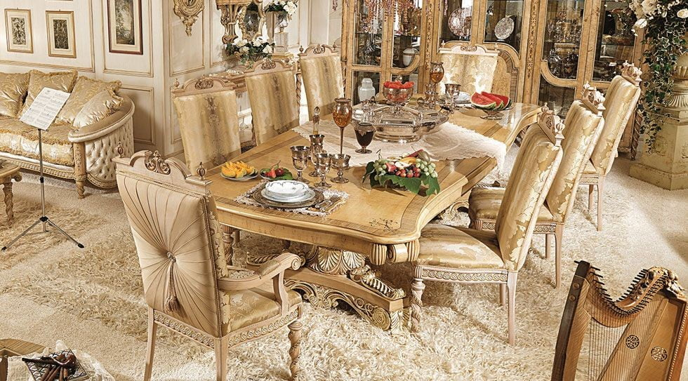 Special handmade Dining Room SetTop and Best Italian