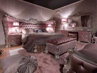 Carving Silver Italian Style BedroomTop and Best Italian ...