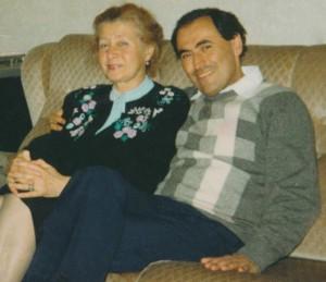 Майя Глезарова и Михаил Копельман, 1988 год