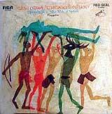 Seiji Ozawa conducts the Boston Symphony in the Rite of Spring -- 1969 RCA album cover