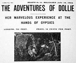 Image result for Adventures Of Dollie 1908