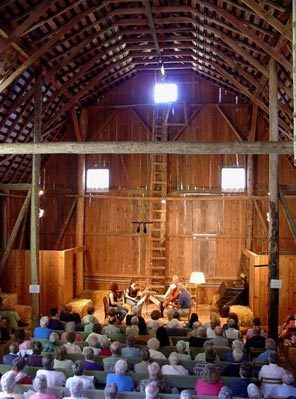 """Concerts in the Barn"" at the Olympic Music Festival (Photo: Olympic Music Festival)"