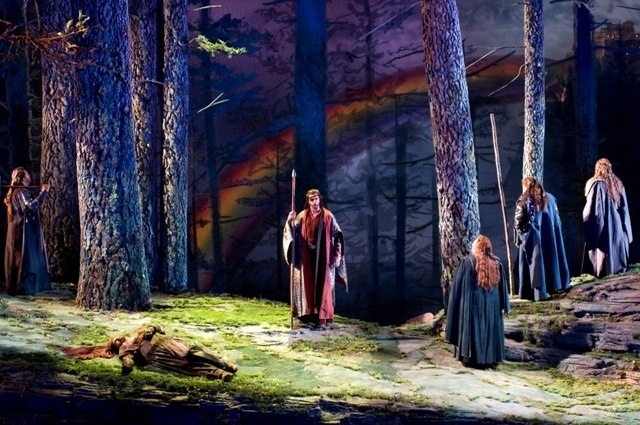 "Seattle Opera's 2009 production of Wagner's ""Das Rheingold"" (Photo: Rosarii Lynch)"