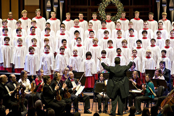 "Northwest Boychoir's ""A Festival of Lessons & Carols"" (Photo: Northwest Choirs)"