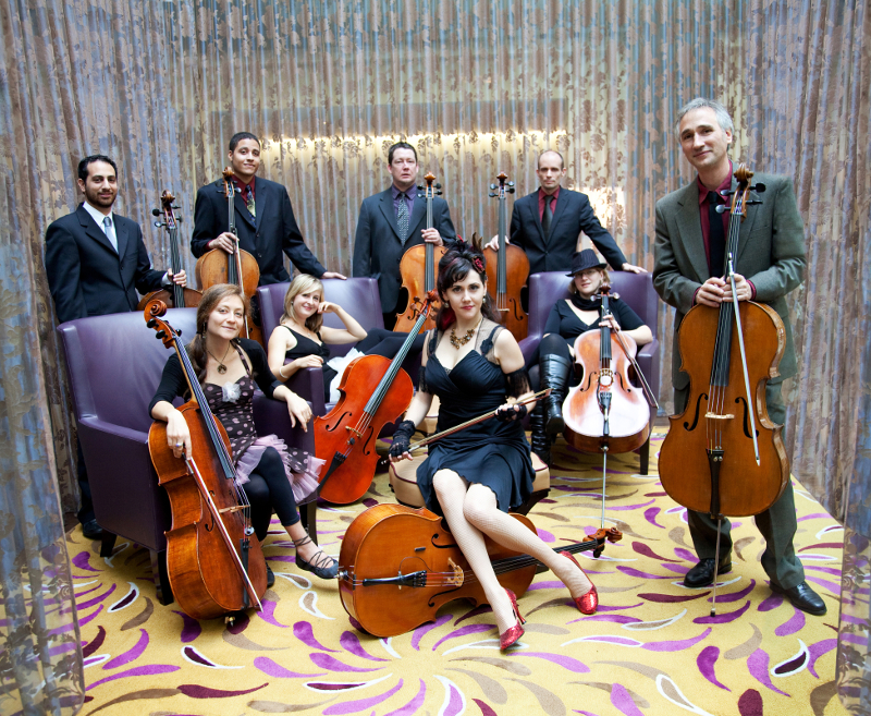 Portland Cello Project (Photo: Tarina Westlund)