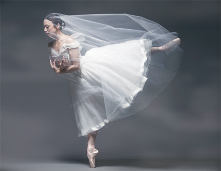Pacific Northwest Ballet's Kaori Nakamura as Giselle (Photo: Angela Sterling)
