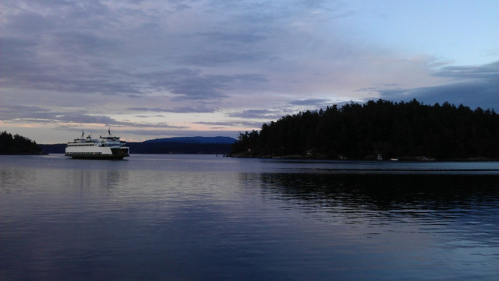 Friday Harbor Ferry (Photo: Dana Wen)