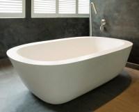 Freistehende Design Badewanne San Remo, Quartz ...