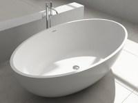 Freistehende Design Badewanne aus Mineralguss Bloomberg ...
