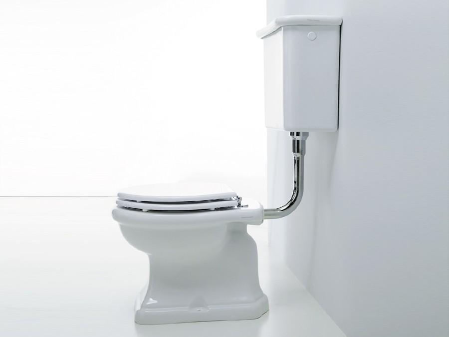 WC WC Becken nostalgie design traditionelle