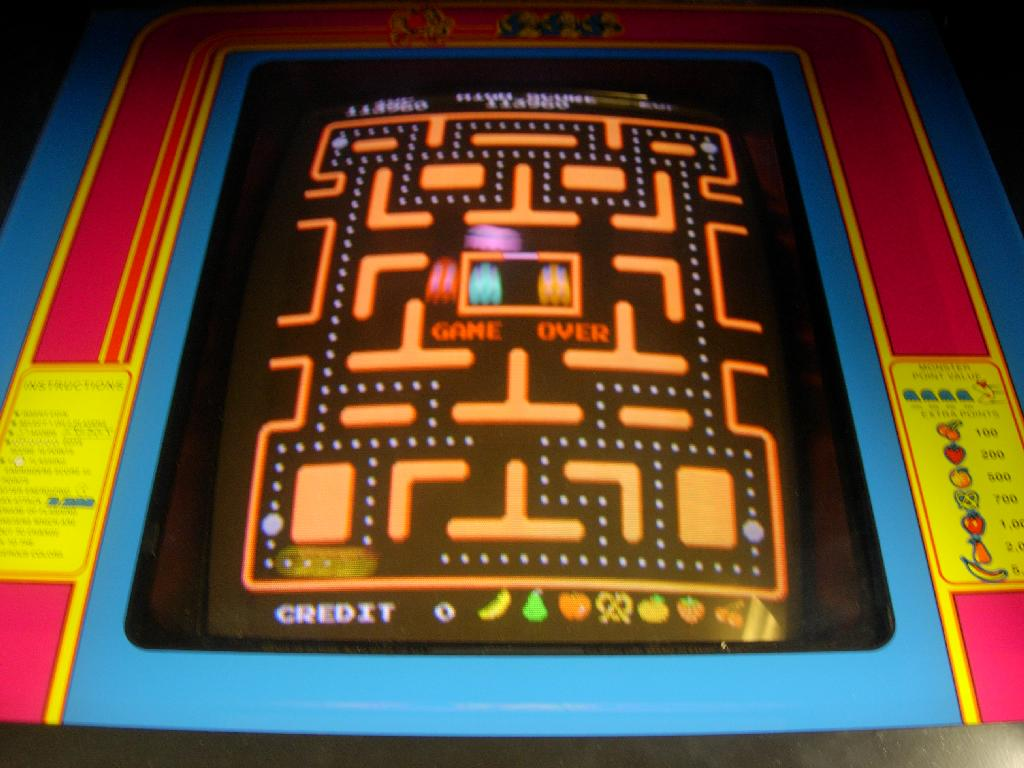 Ms Pac Man Cabinet