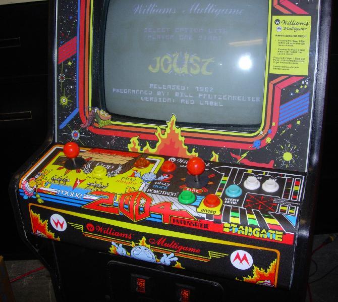 Multi Williams Arcade Video Game