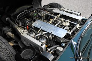 Jaguar Etype V12 convertible, 1974 details