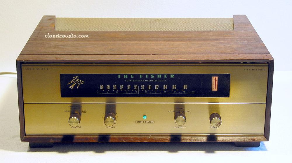 classicaudio.com..... For Sale..... Fisher FM-100B
