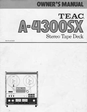 classicaudio.com..... For Sale.....Teac A-4300SX Reel to Reel