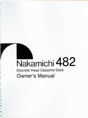 classicaudio.com..... For Sale..... Nakamichi 482