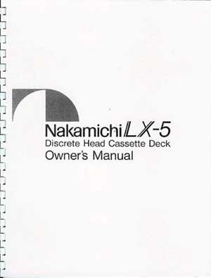 classicaudio.com..... For Sale..... Nakamichi LX-5
