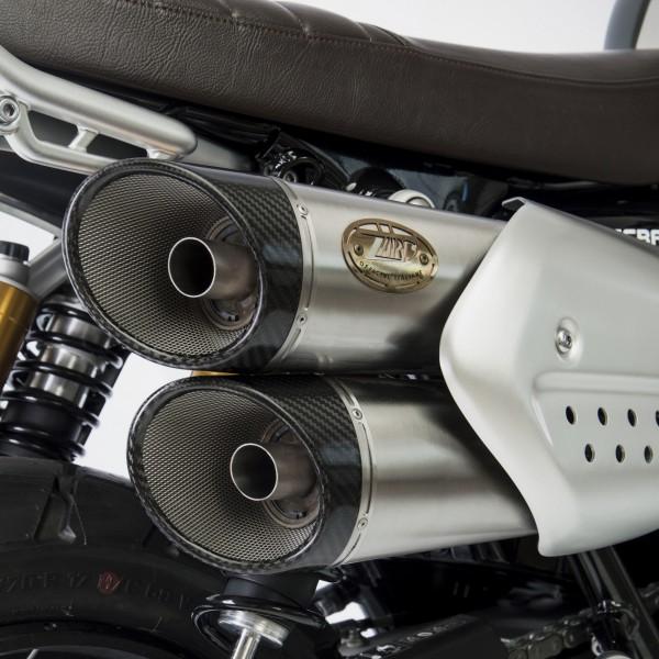 Zard Exhaust Scrambler 1200 News