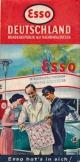 Esso Wegenkaart 1955