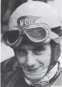 Werner Haas - Racelegende in 1955 op NSU