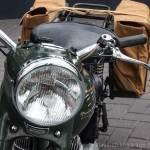 Triumph TRW500 met pensioen