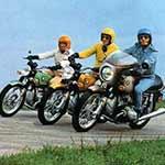 BMW modellen line-up 1974
