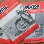 Motorrijden in de jaren 50