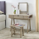 Rustic Farmhouse Vanity And Bench Set Classic Brands