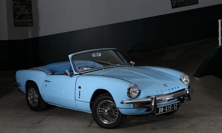 Triumph Spitfire MK3 1967 bleu ciel  Classic Car