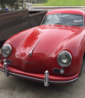 Neuakquisition: Porsche 356 preA Coupe