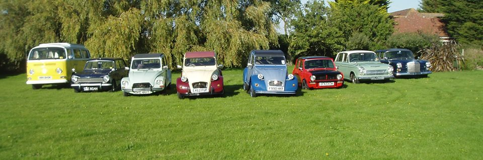 Our classic car hire fleet