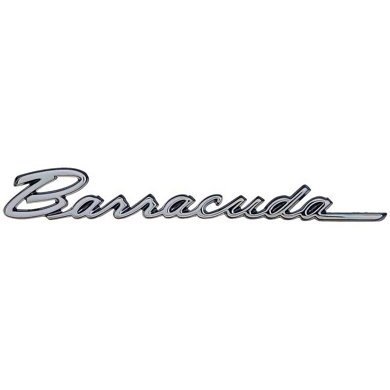 1968 & 1970 Plymouth Barracuda Fender Emblem: Classic Car