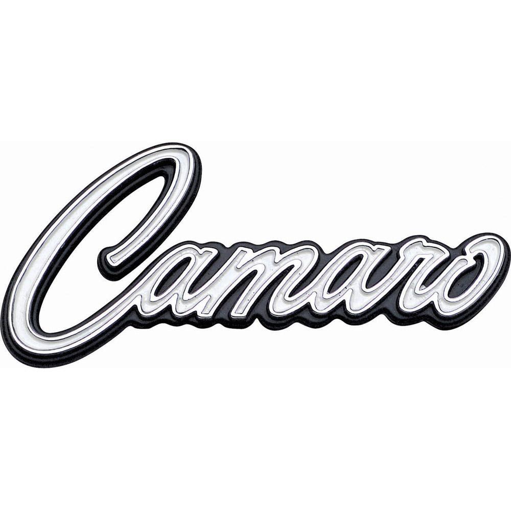 1969 Camaro Emblems & Decals: Classic Car Interior